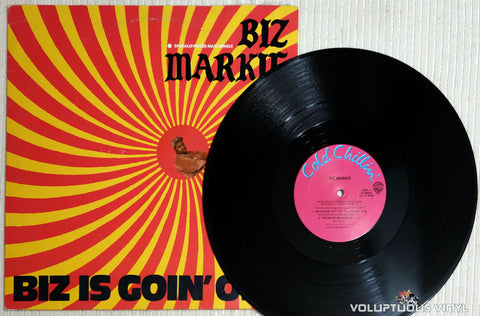 Biz Markie ‎– Biz Is Goin' Off - Vinyl Record