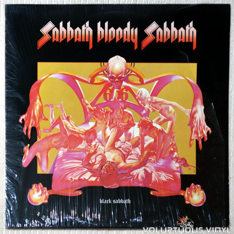 Black Sabbath ‎– Sabbath, Bloody Sabbath - Vinyl Record - Front Cover