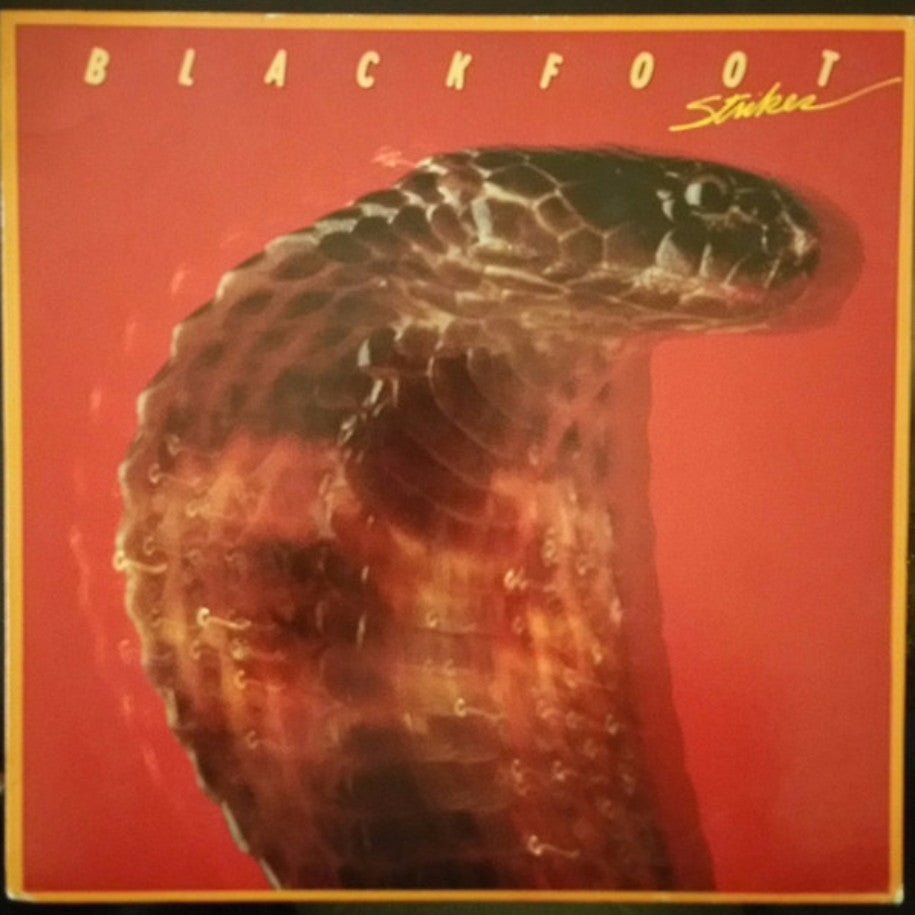 Blackfoot ‎– Strikes - Vinyl Record - Front Cover