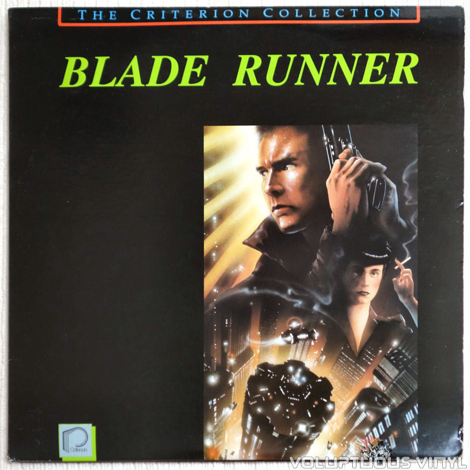 Blade Runner: Special Edition - LaserDisc - Front Cover