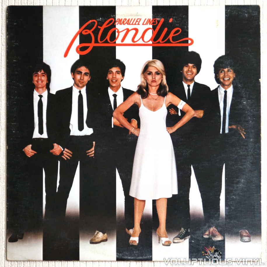 Blondie ‎– Parallel Lines - Vinyl Record - Front Cover