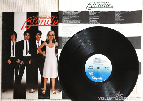 Blondie ‎– Parallel Lines - Vinyl Record