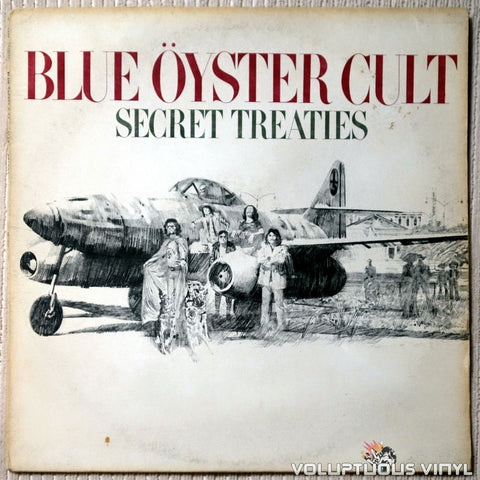 Blue Öyster Cult ‎– Secret Treaties - Vinyl Record - Front Cover