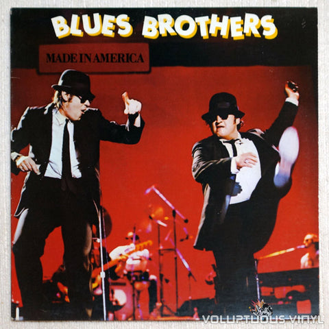 The Blues Brothers ‎Made In America Vinyl Record Front Cover
