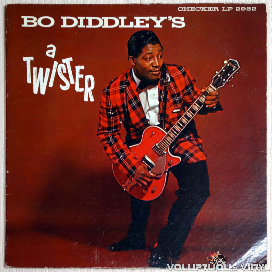Bo Diddley ‎– Bo Diddley's A Twister - Vinyl Record - Front Cover