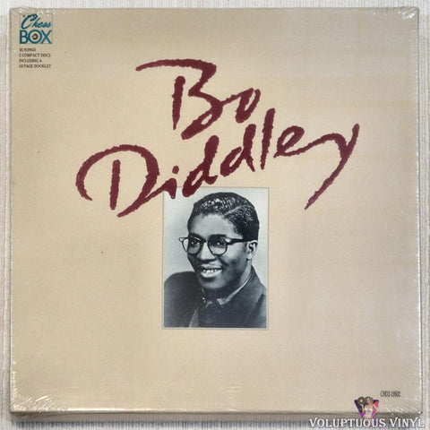Bo Diddley ‎– Bo Diddley - The Chess Box (1990) 2 x CD Box Set, SEALED