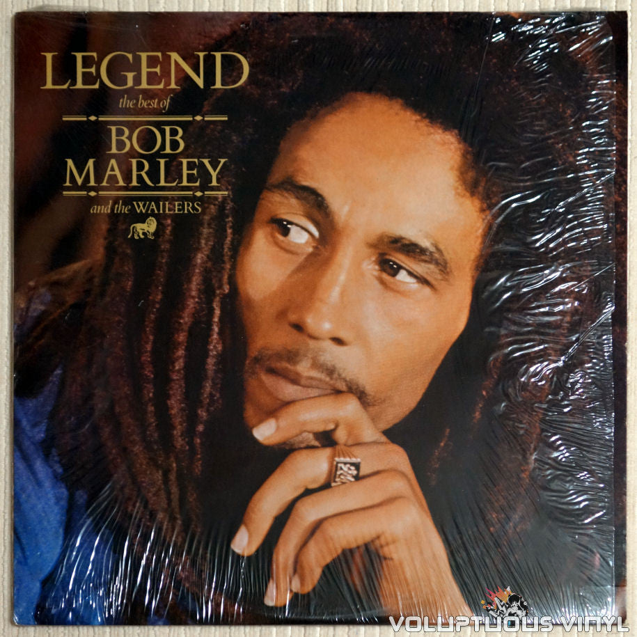 Bob Marley And The Wailers ‎– Legend (The Best Of Bob Marley And The Wailers) - Vinyl Record - Front Cover
