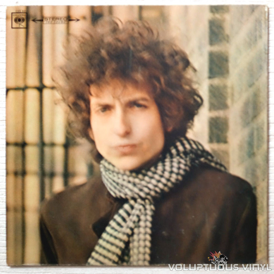 Bob Dylan ‎– Blonde On Blonde - Vinyl Record - Front Cover
