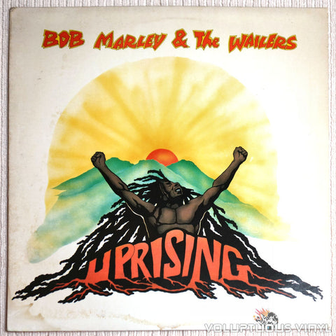 Bob Marley & The Wailers ‎– Uprising - Vinyl Record - Front Cover