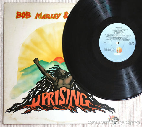 Bob Marley & The Wailers ‎– Uprising - Vinyl Record