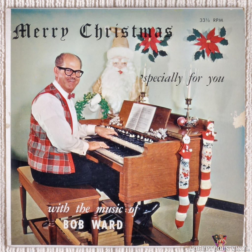 Bob Ward ‎– Merry Christmas 'Specially For You vinyl record front cover