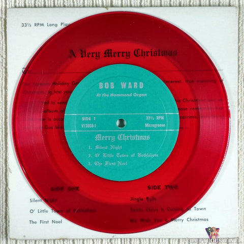 Bob Ward ‎– Merry Christmas 'Specially For You vinyl record