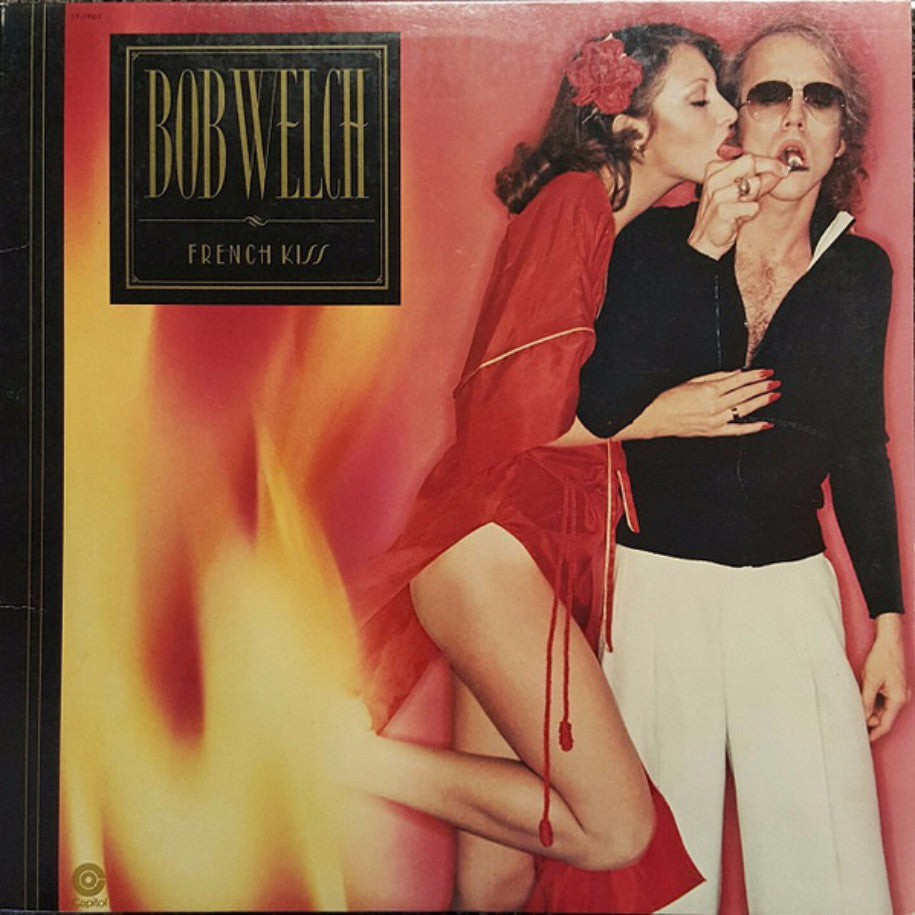 Bob Welch ‎– French Kiss - Vinyl Record - Front Cover