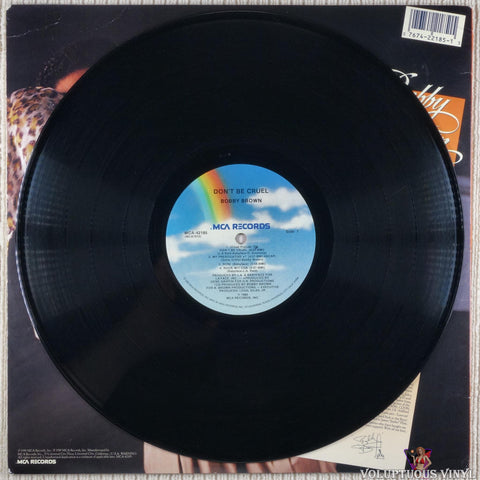 Bobby Brown ‎– Don't Be Cruel vinyl record