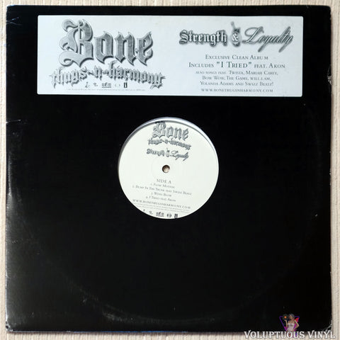 Bone Thugs-N-Harmony ‎– Strength & Loyalty (2007) 2xLP, Promo, Clean Version