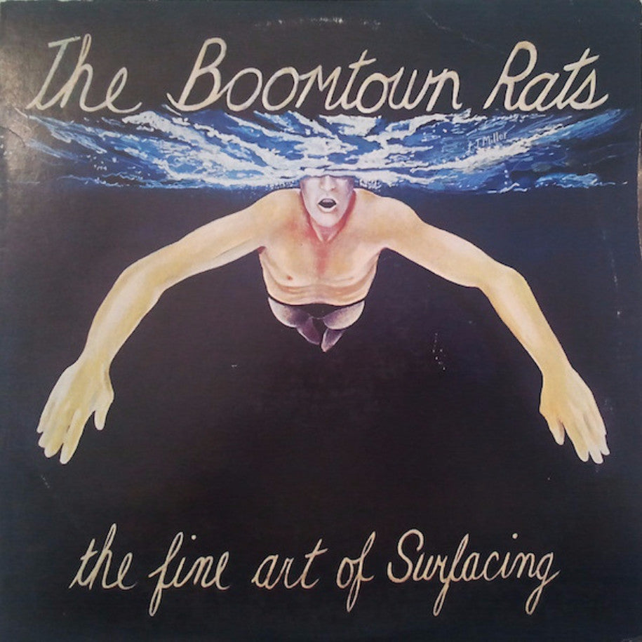 The Boomtown Rats ‎– The Fine Art Of Surfacing - Vinyl Record - Front Cover