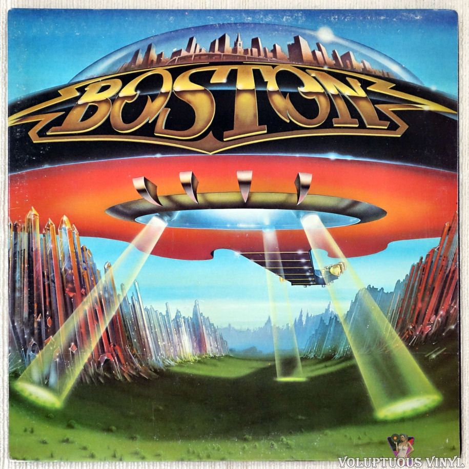 Boston ‎– Don't Look Back vinyl record front cover