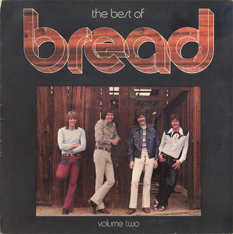Bread ‎– The Best Of Bread Volume Two (1974) Cheap Vinyl Record