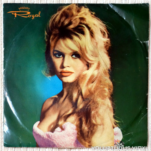 "Brigitte Bardot, Billy Joe Royal, Box Tops ‎– Harley Davidson (?) 7"" EP, Rare Iranian Press"