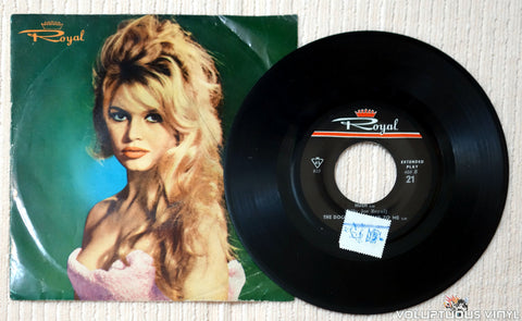 Brigitte Bardot, Billy Joe Royal, Box Tops ‎– Harley Davidson vinyl record side b
