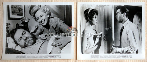 Original promotional photographs for the film Doctor At Sea starring Dirk Bogarde and Brigitte Bardot
