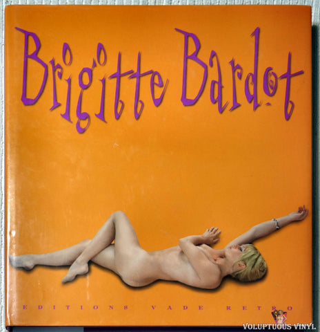Brigitte Bardot Editions Vade Retro book back cover