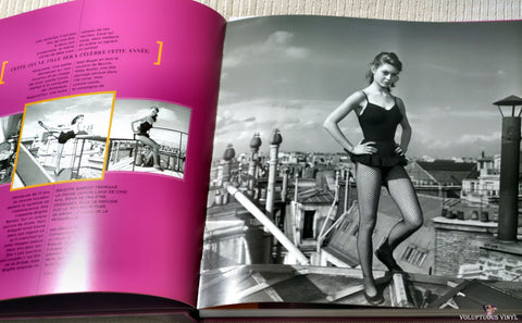 Brigitte Bardot Editions Vade Retro book rooftop photo