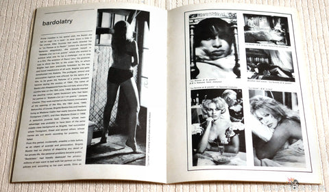 Bardolatry, Inner Pages to a Rare UK Brigitte Bardot Magazine
