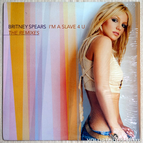 "Britney Spears ‎– I'm A Slave 4 U (The Remixes) (2001) 12"" Single"