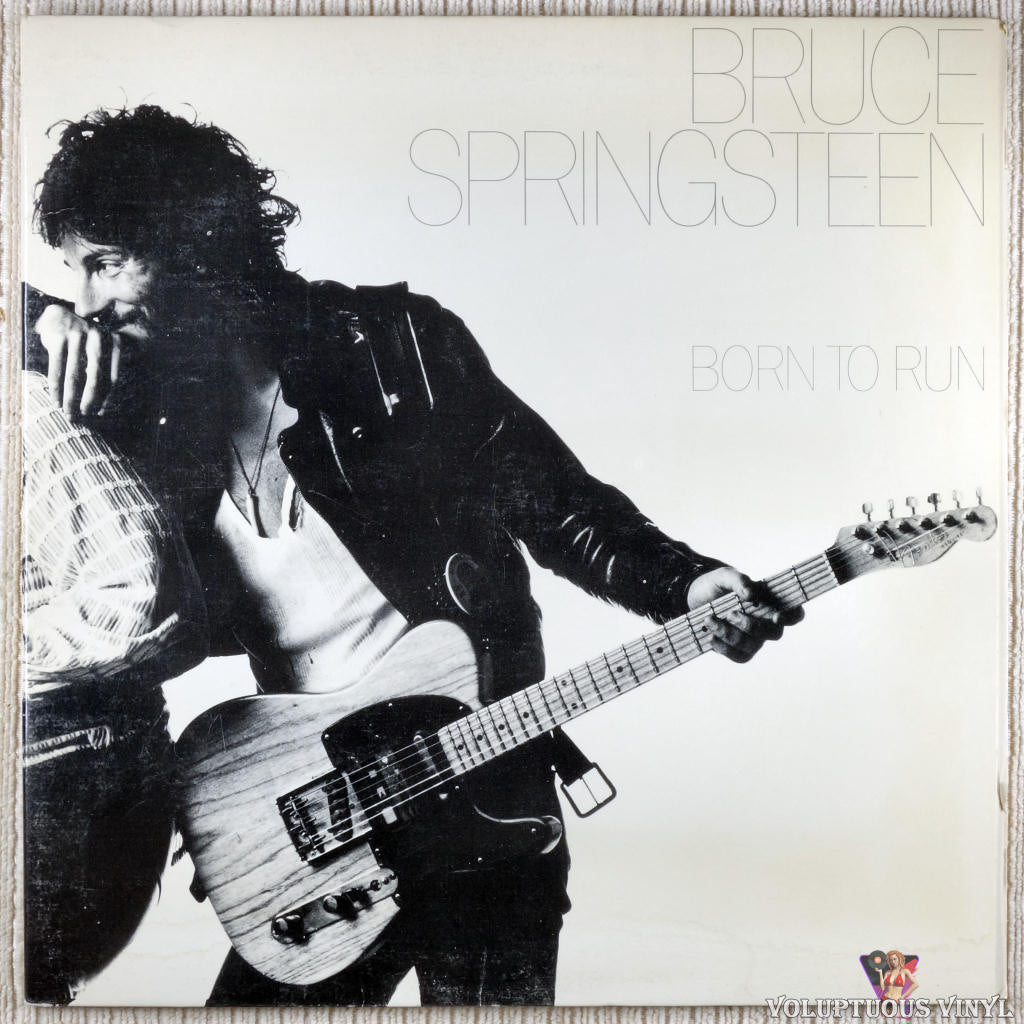Bruce Springsteen ‎– Born To Run vinyl record front cover