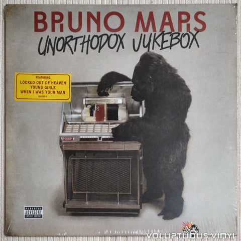 Bruno Mars ‎– Unorthodox Jukebox - Vinyl Record - Front Cover