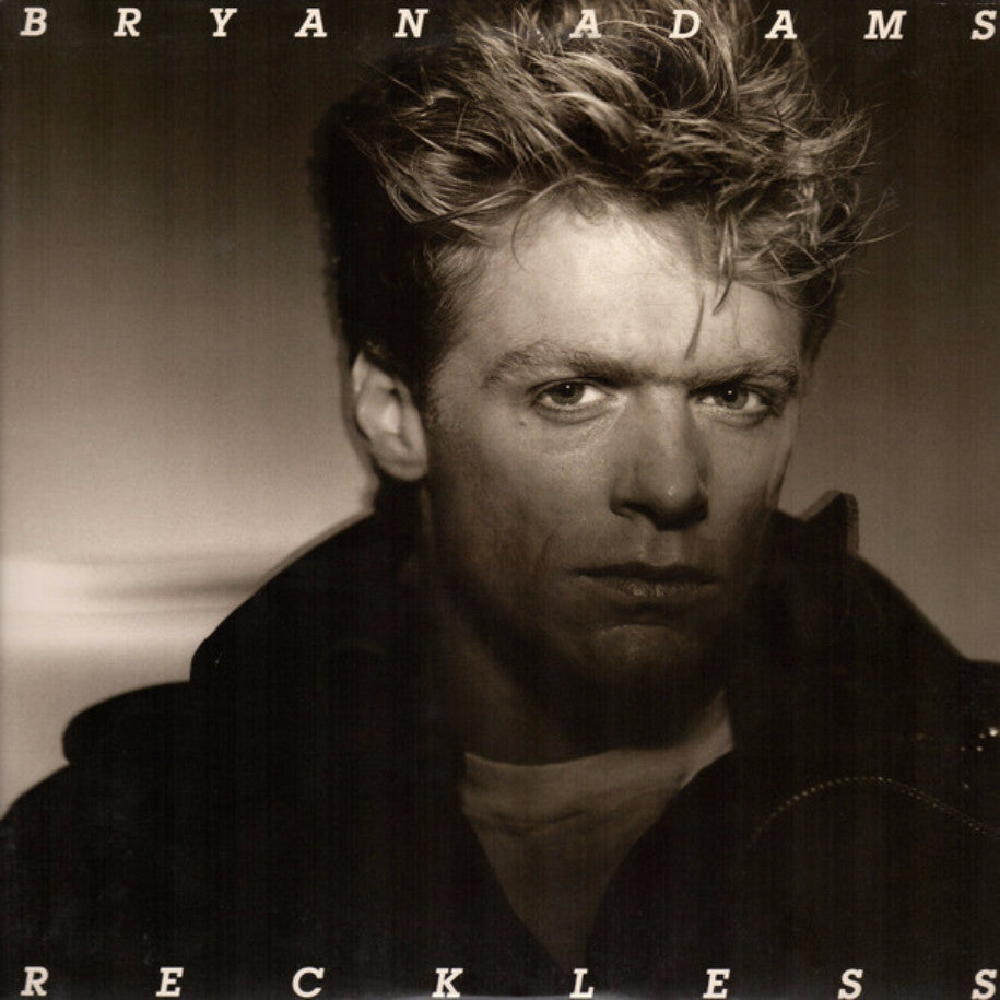 Bryan Adams ‎– Reckless vinyl record front cover