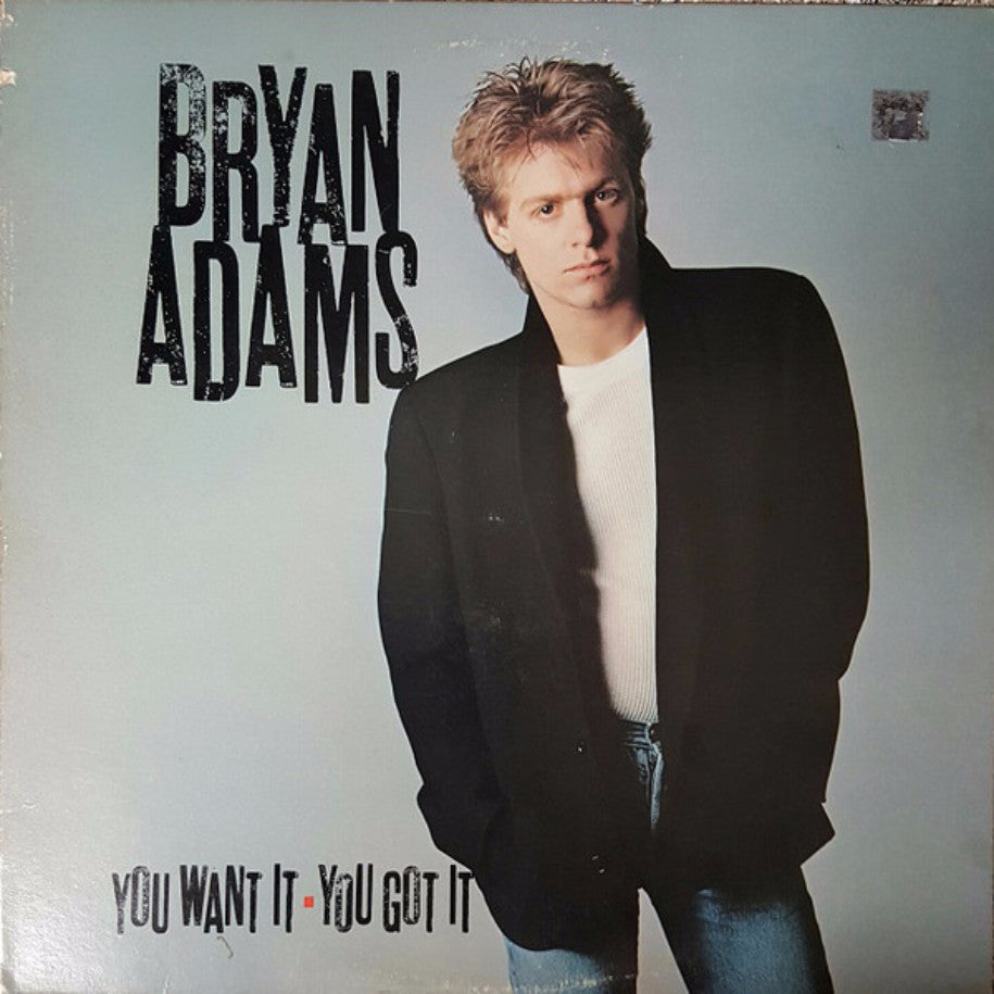 Bryan Adams ‎– You Want It, You Got It - Vinyl Record - Front Cover