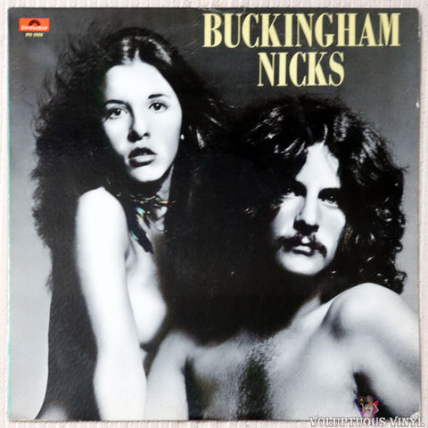 Buckingham Nicks ‎– Buckingham Nicks - Vinyl Record - Nude Stevie Nicks Front Cover