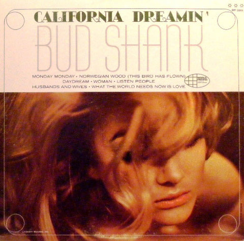 Bud Shank ‎– California Dreamin' (1966) Cheap Vinyl Record