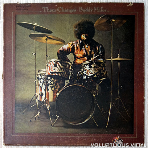 Buddy Miles ‎– Them Changes vinyl record front cover