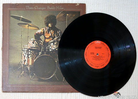 Buddy Miles ‎– Them Changes vinyl record