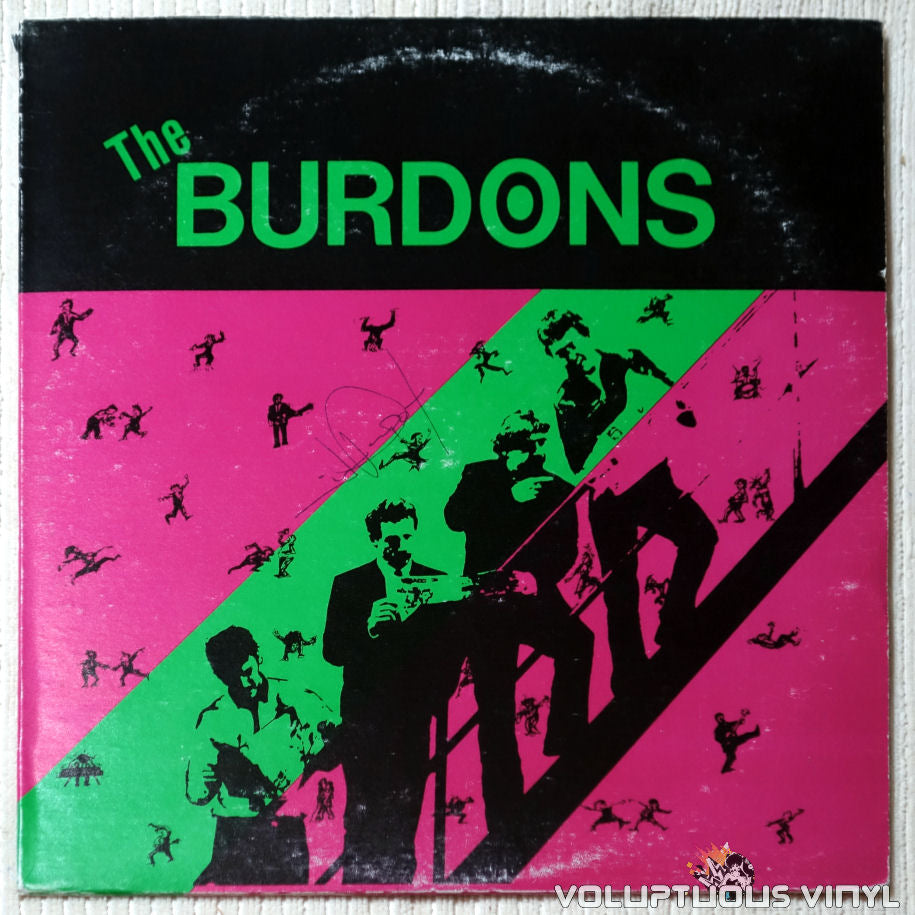 The Burdons ‎– The Burdons - Vinyl Record - Front Cover