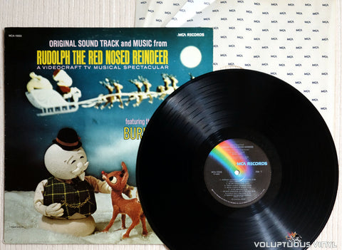 Burl Ives ‎– Original Sound Track And Music From Rudolph The Red Nosed Reindeer - Vinyl Record