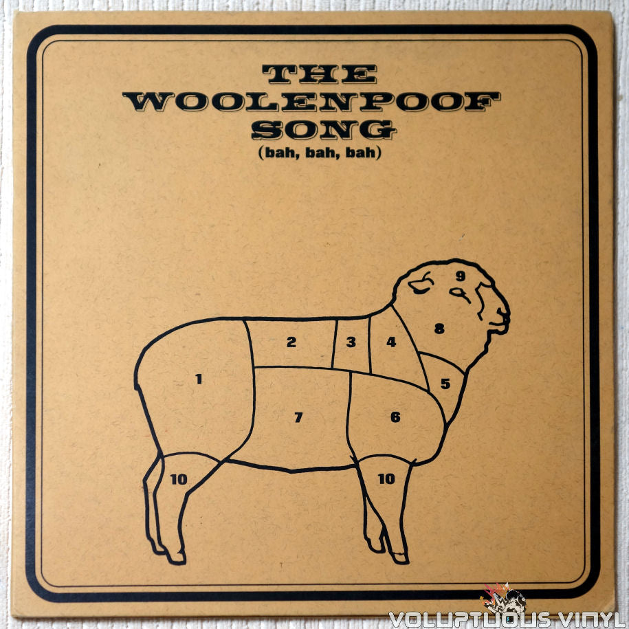 The Buyers 3 ‎– The Woolenpoof Song - Vinyl Record - Front Cover