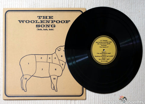 The Buyers 3 ‎– The Woolenpoof Song - Vinyl Record