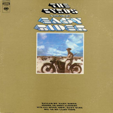 The Byrds ‎– Ballad Of Easy Rider vinyl record front cover