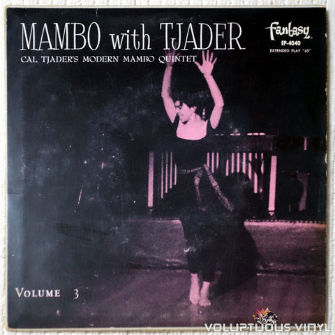 Cal Tjader's Modern Mambo Quintet ‎– Mambo With Tjader Volume 3 - Vinyl Record - Front Cover