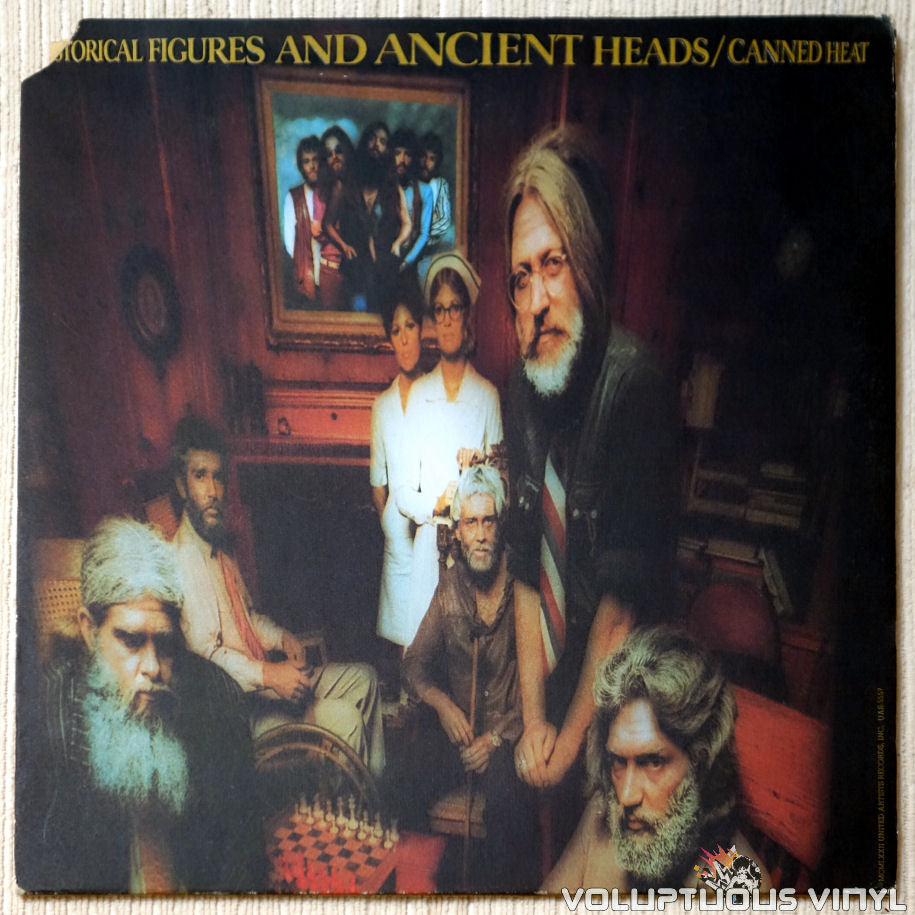 Canned Heat ‎– Historical Figures And Ancient Heads vinyl record front cover