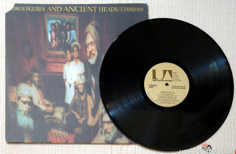 Canned Heat ‎– Historical Figures And Ancient Heads vinyl record
