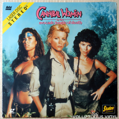 Cannibal Women in the Avocado Jungle of Death - LaserDisc - Front Cover