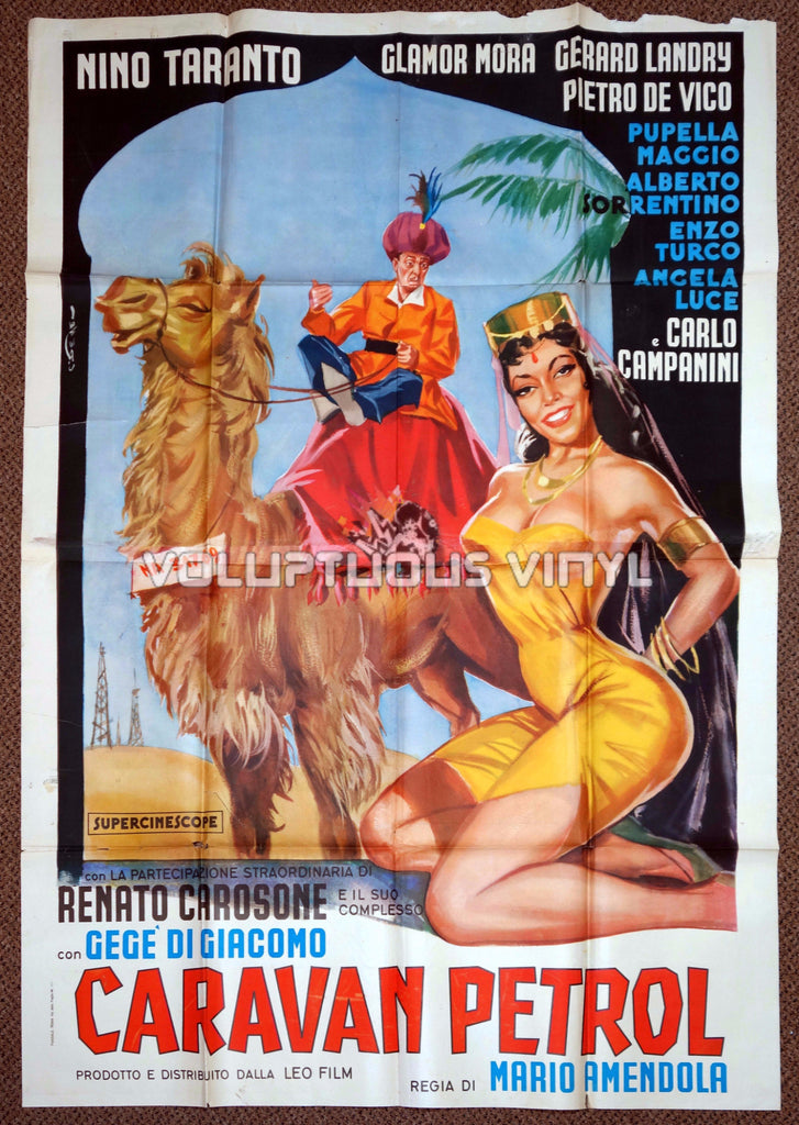 Caravan petrol - Italian 4F - Original Movie Poster
