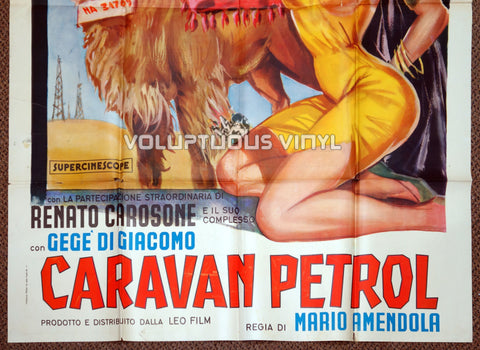 Caravan petrol - Italian 4F - Original Movie Poster - Bottom Half