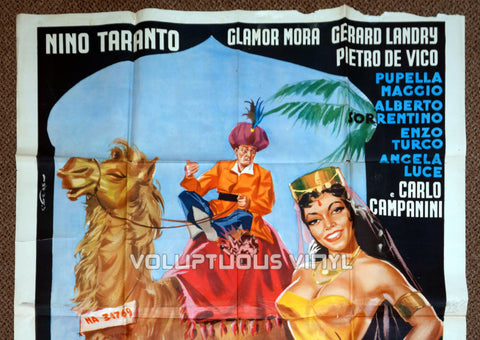 Caravan petrol - Italian 4F - Original Movie Poster - Top Half