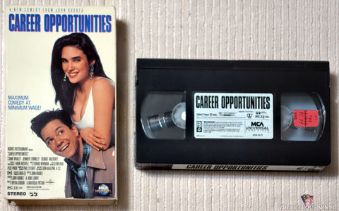 Career Opportunities VHS tape